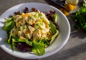 Light Curry Chicken Salad