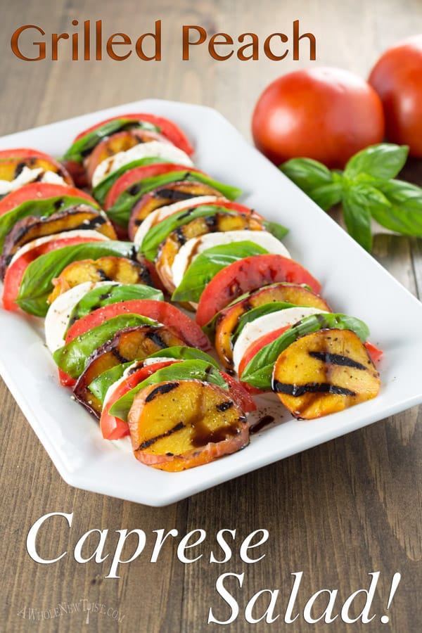 Grilled-Peach-Caprese-Salad