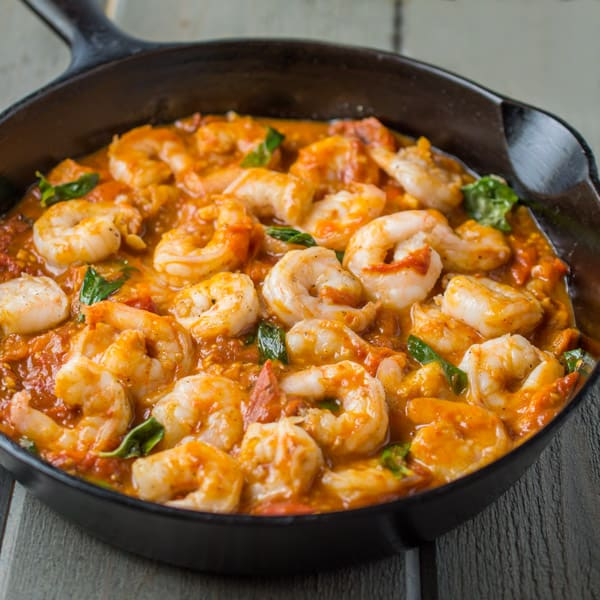 Shrimp-with-Roasted-Cherry-Tomato-Sauce